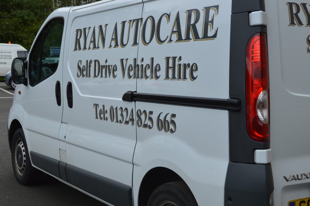 hire van side